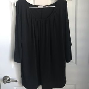 New York & Co Cold Shoulder Top